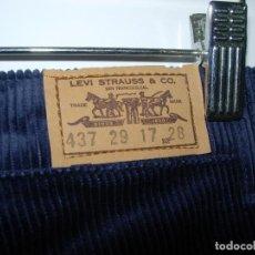 Vintage: LEVI'S PANTALÓN DE PANA,ORIGINAL AÑOS 70-80,NUEVO,VINTAGE, TALLA??. Lote 68673589