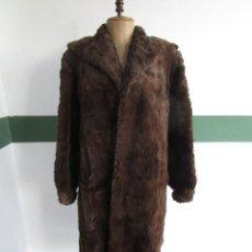 Vintage: ABRIGO CHAQUETA DE PIEL MUJER TALLA 48-50. Lote 69079861
