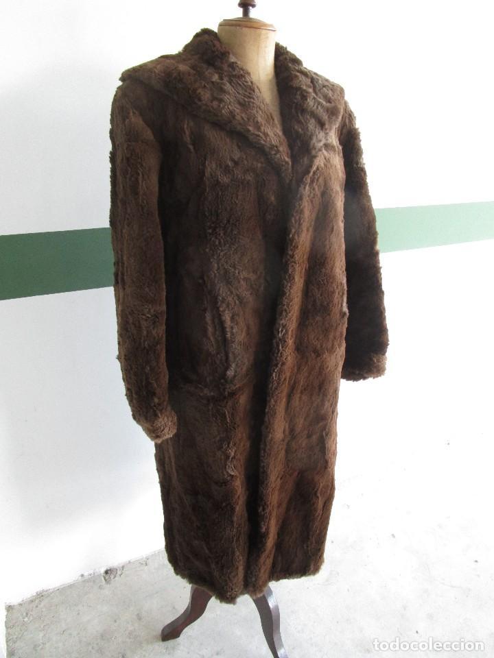 Vintage: abrigo chaqueta de piel mujer talla 48-50 - Foto 2 - 69079861