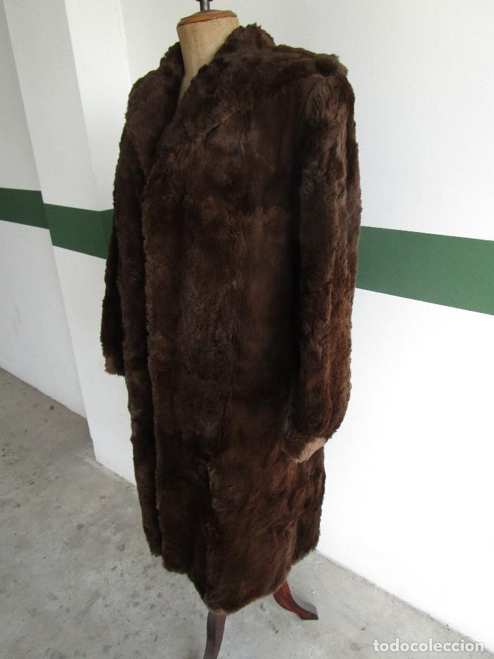 Vintage: abrigo chaqueta de piel mujer talla 48-50 - Foto 3 - 69079861