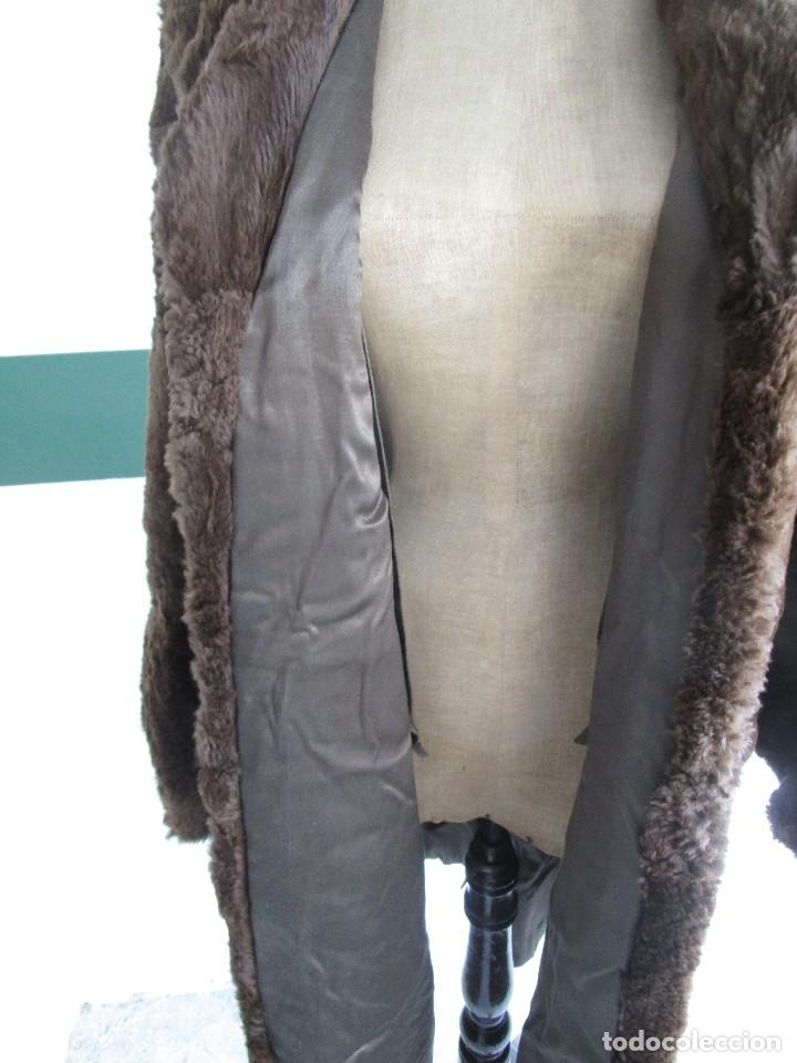 Vintage: abrigo chaqueta de piel mujer talla 48-50 - Foto 4 - 69079861
