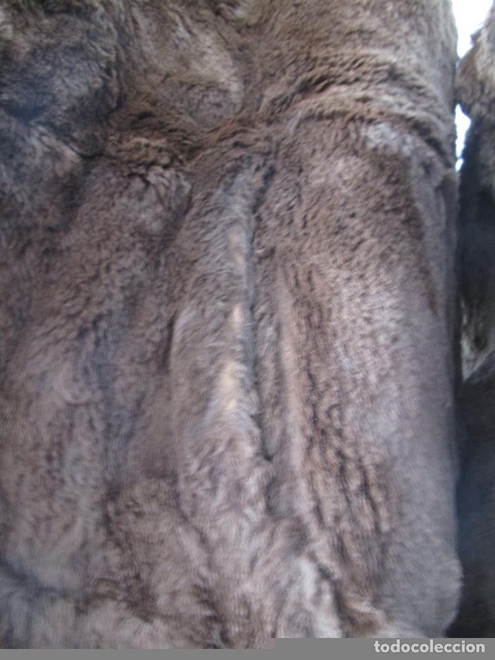Vintage: abrigo chaqueta de piel mujer talla 48-50 - Foto 5 - 69079861