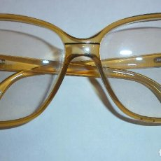 Vintage: U4 GAFAS VINTAGE TERRI BROGAN - ÁMBAR TRANSLÚCIDO. Lote 69407633