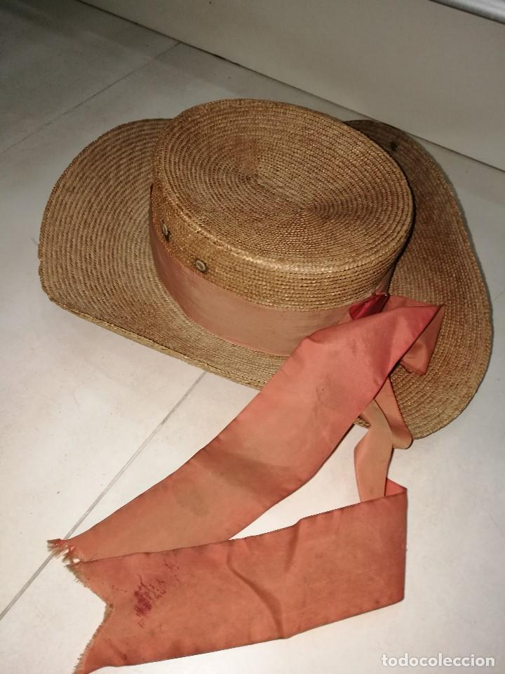 SOMBRERO DE GONDOLERO (Vintage - Moda - Complementos)