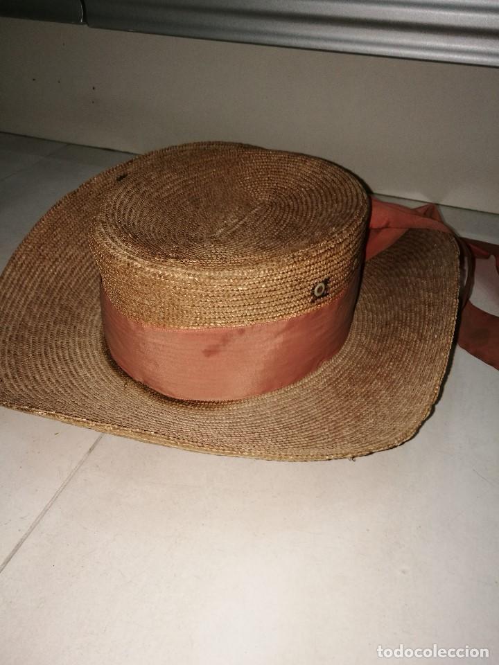 Vintage: Sombrero de gondolero - Foto 2 - 70178269