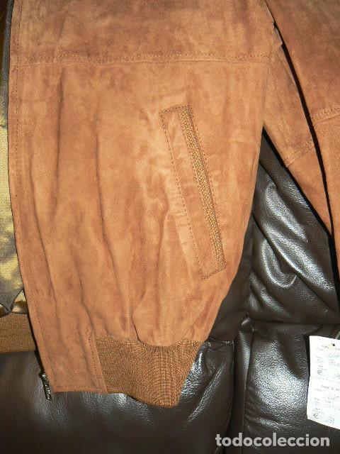 Vintage: Cazadora de ante - Foto 3 - 71944887