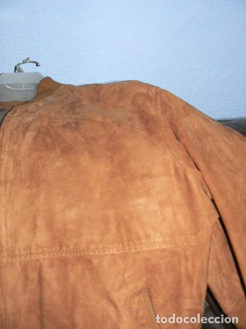 Vintage: Cazadora de ante - Foto 4 - 71944887
