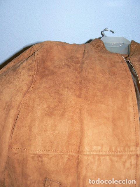 Vintage: Cazadora de ante - Foto 5 - 71944887