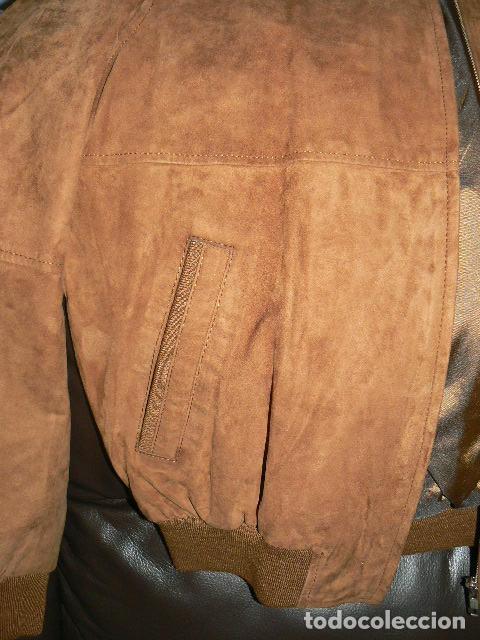 Vintage: Cazadora de ante - Foto 6 - 71944887