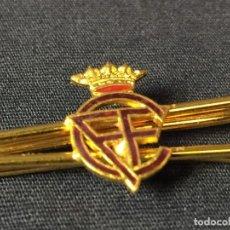 Vintage: PASADOR CORBATA ESCUDO DE CLUB DEPORTIVO? CFF DORADO CORONA 5 GRAMOS. Lote 72004047