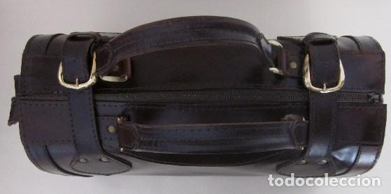 Vintage: BOLSO TIPO MALETIN EN CUERO - AÑOS 60 - Foto 4 - 174599254