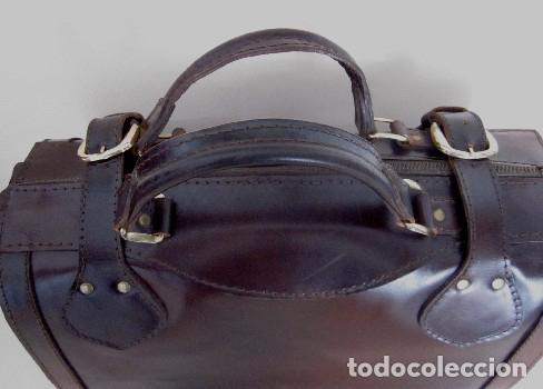 Vintage: BOLSO TIPO MALETIN EN CUERO - AÑOS 60 - Foto 6 - 174599254
