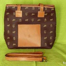 Vintage: BOLSO DE PIEL EL CABALLO - ORIGINAL - AÑOS 80. Lote 74251723