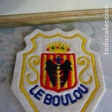 Vintage: PARCHE BORDADO DE TELA VINTAGE DE LOS 80/90 - LE BOULOU - FRANCIA. Lote 74788507