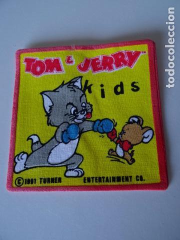 Vintage: PARCHES VINTAGE DE LOS 80/90 - TOM Y JERRY - APLICACIONES TERMOADHESIVAS COLECCION COMPLETA DE 12 - Foto 3 - 75224927
