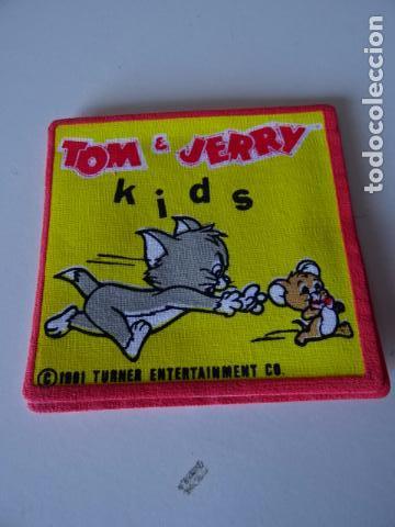 Vintage: PARCHES VINTAGE DE LOS 80/90 - TOM Y JERRY - APLICACIONES TERMOADHESIVAS COLECCION COMPLETA DE 12 - Foto 8 - 75224927