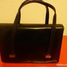 Vintage: BOLSO DE PIEL AÑOS 60. Lote 75500615