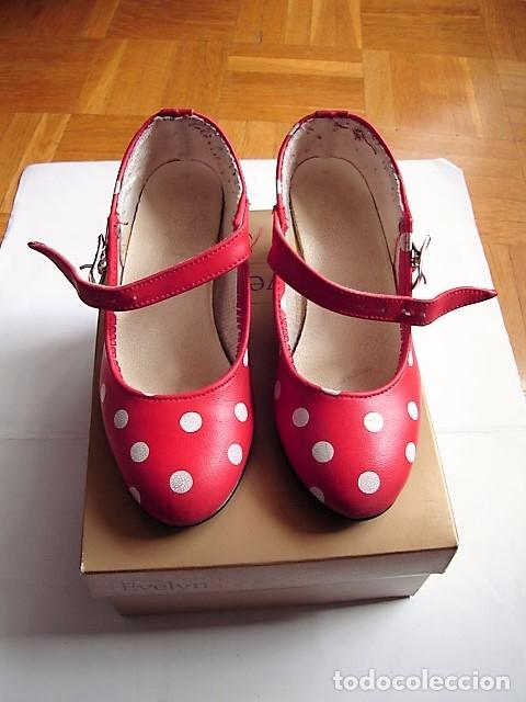 131a7953d zapatos de sevillana para niña - Comprar Complementos vintage en ...