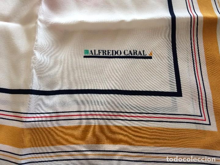 Vintage: Pañuelo señora Azafatas Iberia de los años 60 Alfredo Caral - Foto 3 - 77626933