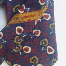 Vintage: CORBATA VALENTINO, SEDA NATURAL, ORIGINAL, NO REPLICA, AÑOS 80. Lote 77853409