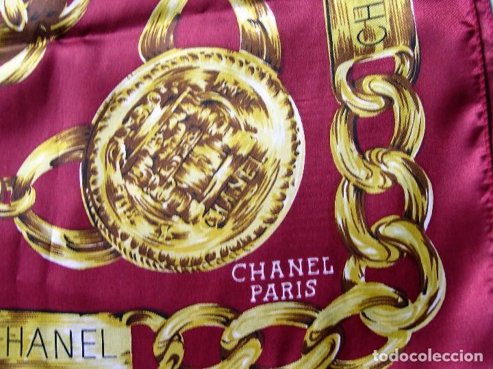 Vintage: PAÑUELO CHANEL PARIS 90X90 - Foto 2 - 78854693