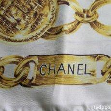 Vintage: PAÑUELO CHANEL PARIS - MEDIDA 90X90. Lote 79537713