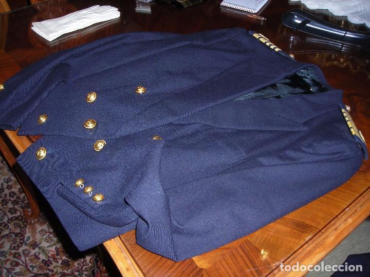 UNIFORME DE GALA DE LA MARINA MERCANTE (SECCIÓN MÁQUINAS) (Vintage - Moda - Hombre)