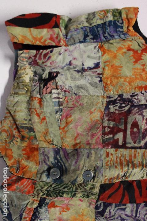 Vintage: Chaleco colorido años 70 .Vintage. Talla .L - Foto 2 - 84652600