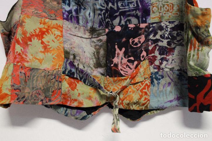 Vintage: Chaleco colorido años 70 .Vintage. Talla .L - Foto 3 - 84652600