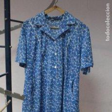 Vintage: VESTIDO LARGO CON ESTAMPADO FLORAL.TALLAL. VINTAGE.. Lote 84654604