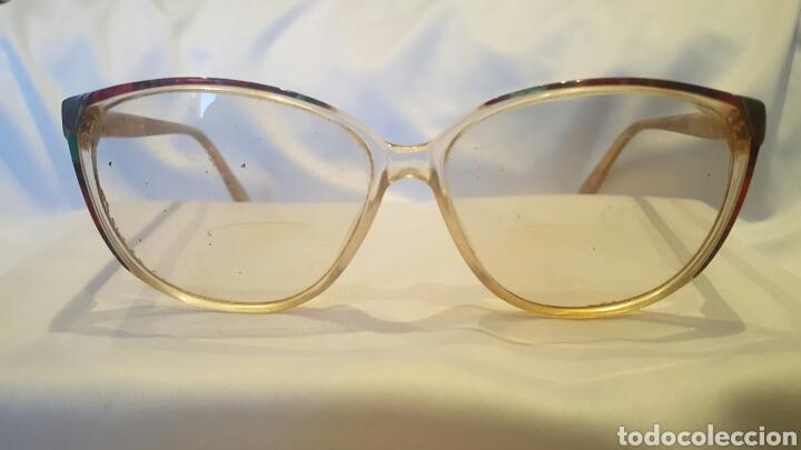 M, S & F, Montura para gafas, de pasta, con cristales graduados, vintage, original. segunda mano
