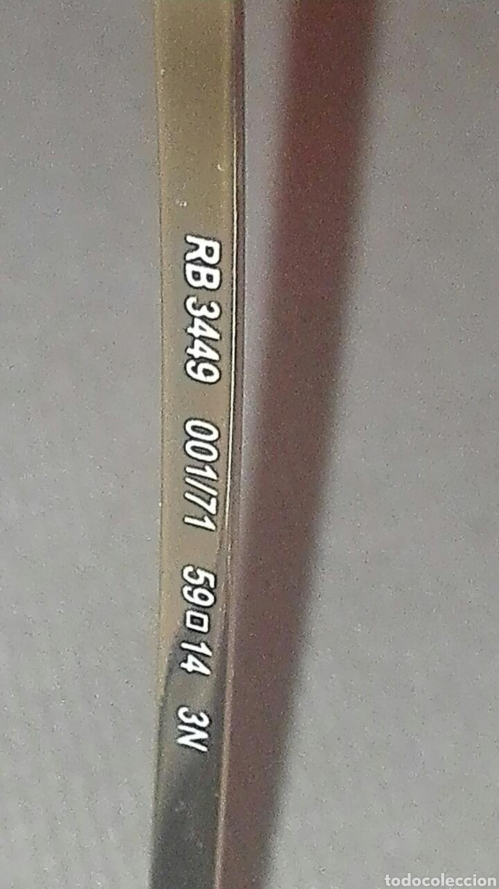 Vintage: gafa ray ban rb3449 001/71 59mm - Foto 3 - 85359575