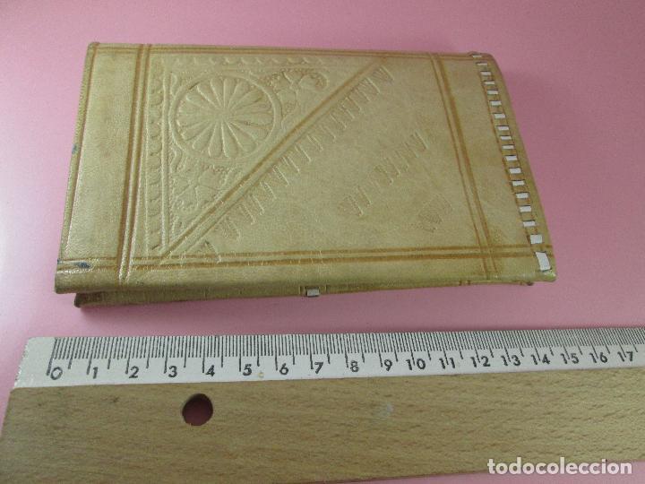 Vintage: billetera/cartera-artesanal-marruecos-piel moruna-como nueva-ver fotos. - Foto 5 - 85865920