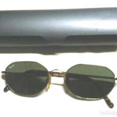Vintage: GAFAS DE SOL RAY BAN BAUSCH & LOM USA, VARILLA FORRADA CAREY, CRISTALES ORIGINALES A ESTRENAR. Lote 85894592