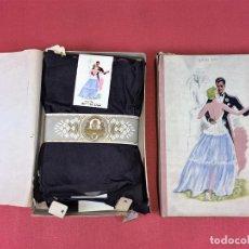Vintage: 6 PARES DE MEDIAS. SEDA. SIN USO. EL FARO DE CALELLA. ESPAÑA. CIRCA 1920. Lote 86635676