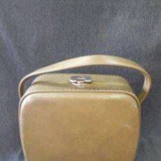 Vintage: BOLSO-NECESER FIN DE SEMANA AÑOS 60 COLOR VERDE. Lote 86848823