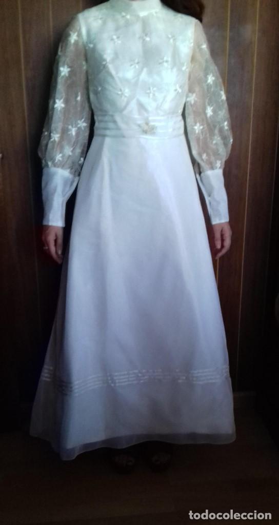 antiguo y bonito vestido de novia de los años 6 - comprar moda
