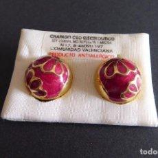 Vintage: BONITOS PENDIENTES VINTAGE DE GRAN CALIDAD. Lote 88824936