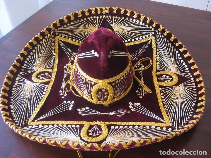 b68d95fa61f12 autentico sombrero mexicano pigalle xxxxx. - Comprar Moda vintage ...