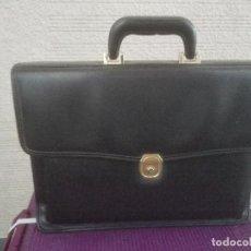 Vintage: ELEGANTE CARTERA CON CLASIFICADOR DE DOCUMENTOS. Lote 90639500