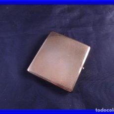 Vintage: PITILLERA DE METAL DORADO AÑOS 40. Lote 91857610
