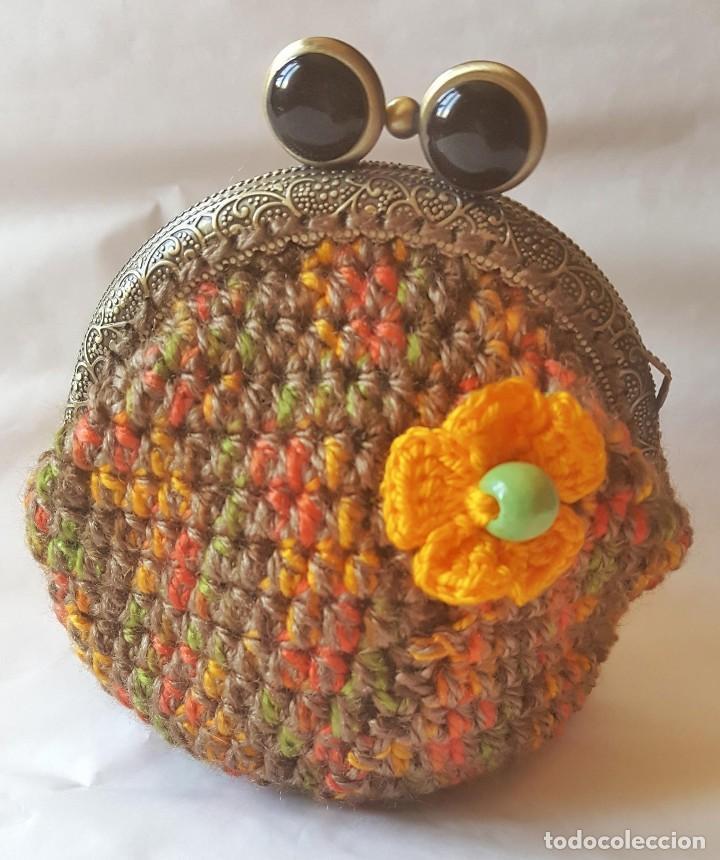 crochet: monedero vintage, a ganchillo. modelo - Comprar ...