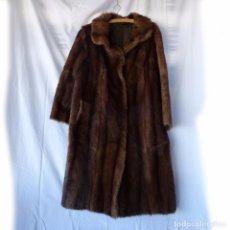 Vintage - Abrigo de piel de visón - 92872530