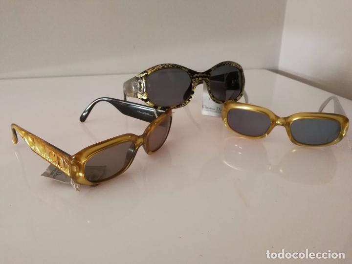 Vintage: Christian Dior - Audrey Hepburn - 3 Gafas A Estrenar! - 1980 - Foto 2 - 93243830