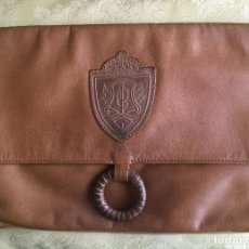 Vintage: BOLSO DE MANO VINTAGE DE PIEL AÑOS 80. Lote 95435475