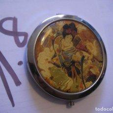 Vintage: ESPEJO VINTAGE CON MOTIVOS ORIENTALES. Lote 96385795