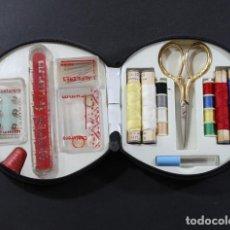 Vintage: COSTURERO VINTAGE TRUMM COMPLETO ¿AÑOS 60? 12,50 X 12,00 CM NUEVO. Lote 96773091