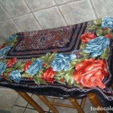 Vintage: PAÑUELO GRANDE PRECIOSO ESTAMPADO.. Lote 97002251