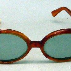 Vintage: GAFAS SOL VINTAGE PASTA AÑOS 70. Lote 97777803