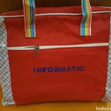 Vintage: CARTERA BOLSO ROJA VINTAGE AÑOS 80 INFORMATIC PARA ORDENADOR PORTATIL. Lote 98126512